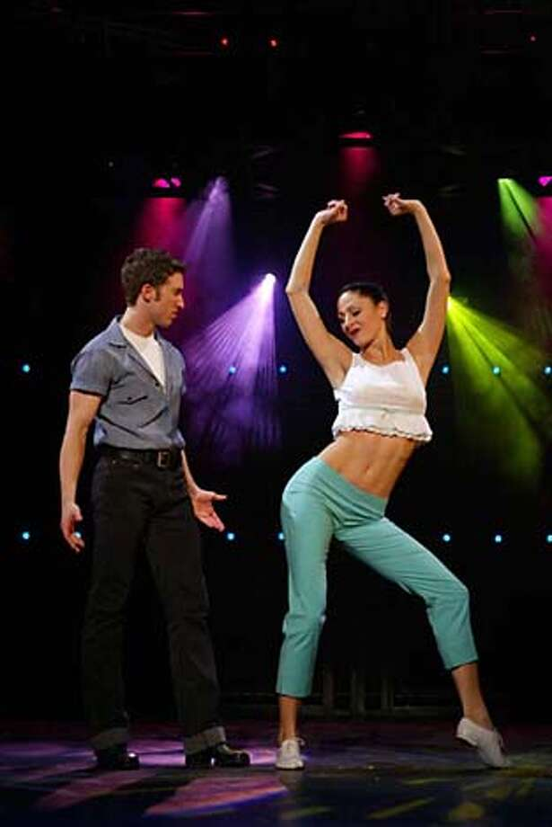 "RonTodorowski and Holly Cruikshank in the Billy Joel musical ""Movin' Out' Photo: Handout"