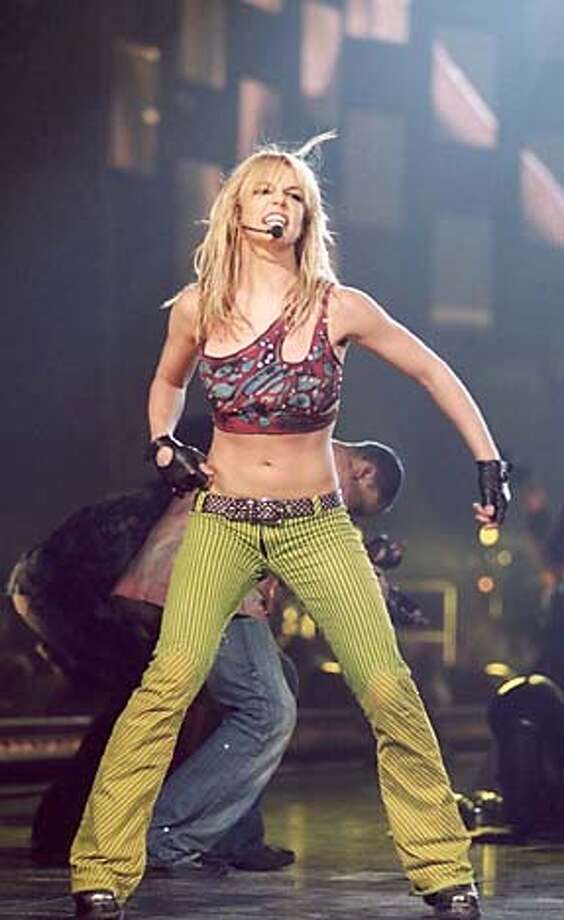 THIS IS A HANDOUT IMAGE. PLEASE VERIFY RIGHTS. BRINTNEYd-C-15NOV01-DD-HO BRITNEY SPEARS: LIVE FROM LAS VEGAS. HADOUT.