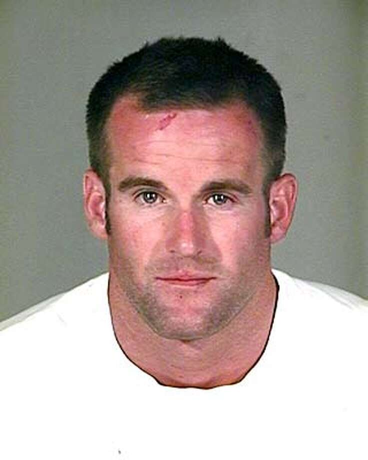 NEWS -- Former San Francisco police officer Alex Fagan Jr. (submitted photo) March 26, 2004. Alex Fagan Jr., shown in this booking photo, was booked on five misdemeanor counts, including disorderly assault. Alex Fagan Jr. is shown as he was booked by Arizona police on five misdemeanor counts, including disorderly assault. ##Chronicle#3/27/2004####0421695116 Alex Fagan Sr., ex-S.F. police chief, isn't new to off-duty incidents related to alcohol. Metro#Metro#Chronicle#3/28/2004#ALL#3star#B1#0421695116