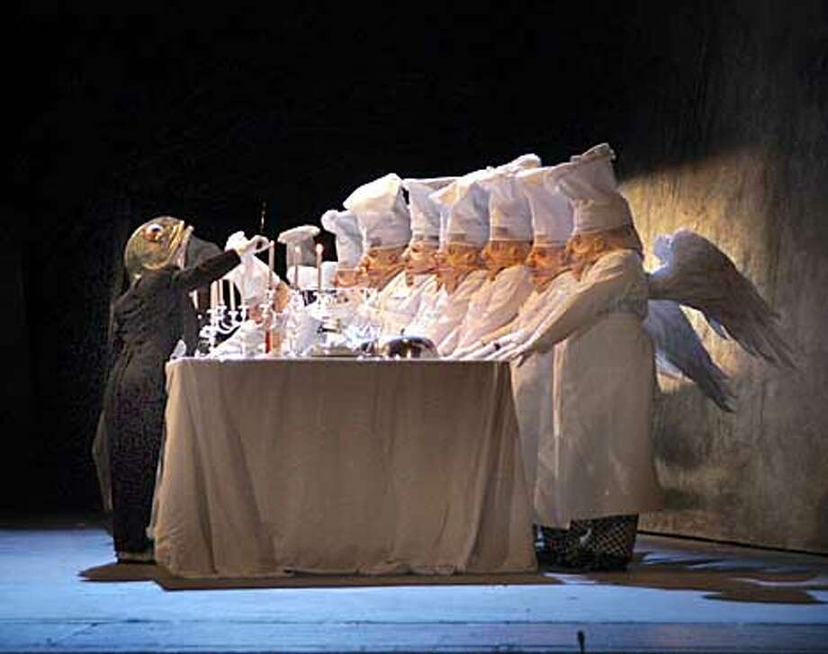 SF Opera's production of Hansel and Gretel.  (HANDOUT PHOTO) Photo: HANDOUT