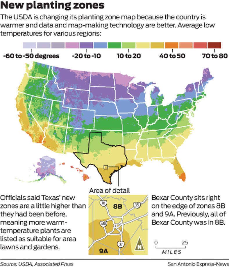 New map for a climate of change - San Antonio Express-News