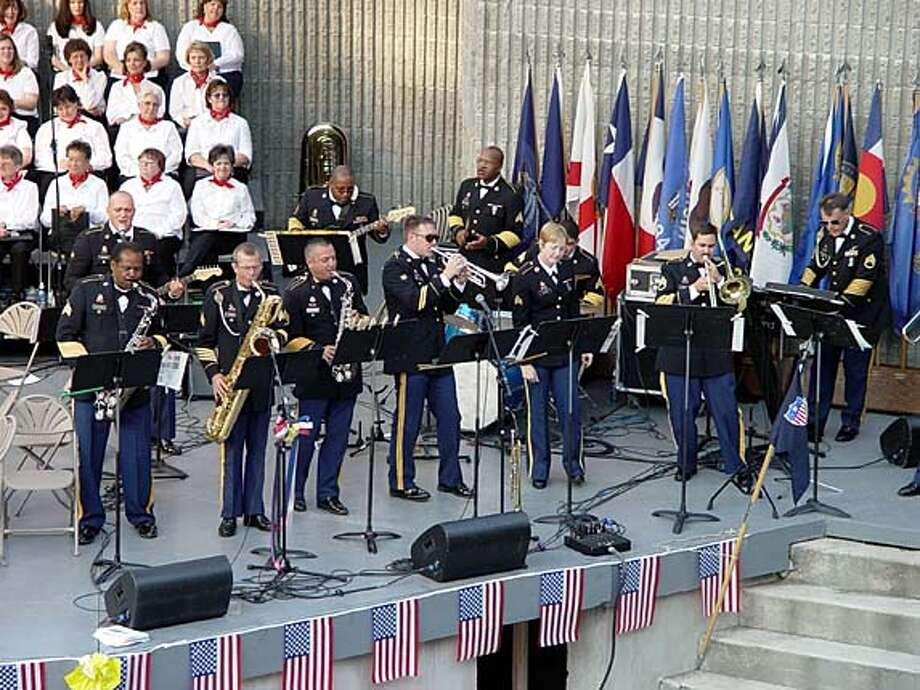 ebljulyfourthlist02a.JPG 91st Division Military band to perform at Ohlone College. / HANDOUT