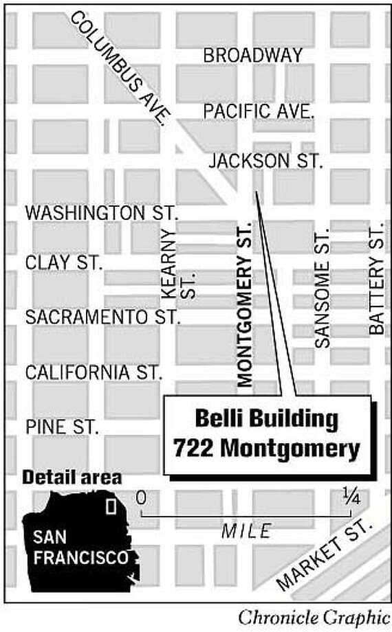 Belli Building. Chronicle Graphic Photo: Chronicle Graphic
