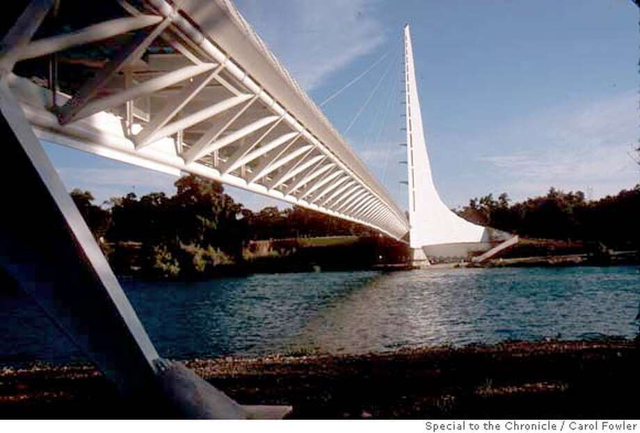 Sundial Bridge  Sacramento River  Redding Ca Photo Credit: Carol Fowler/special to Chron