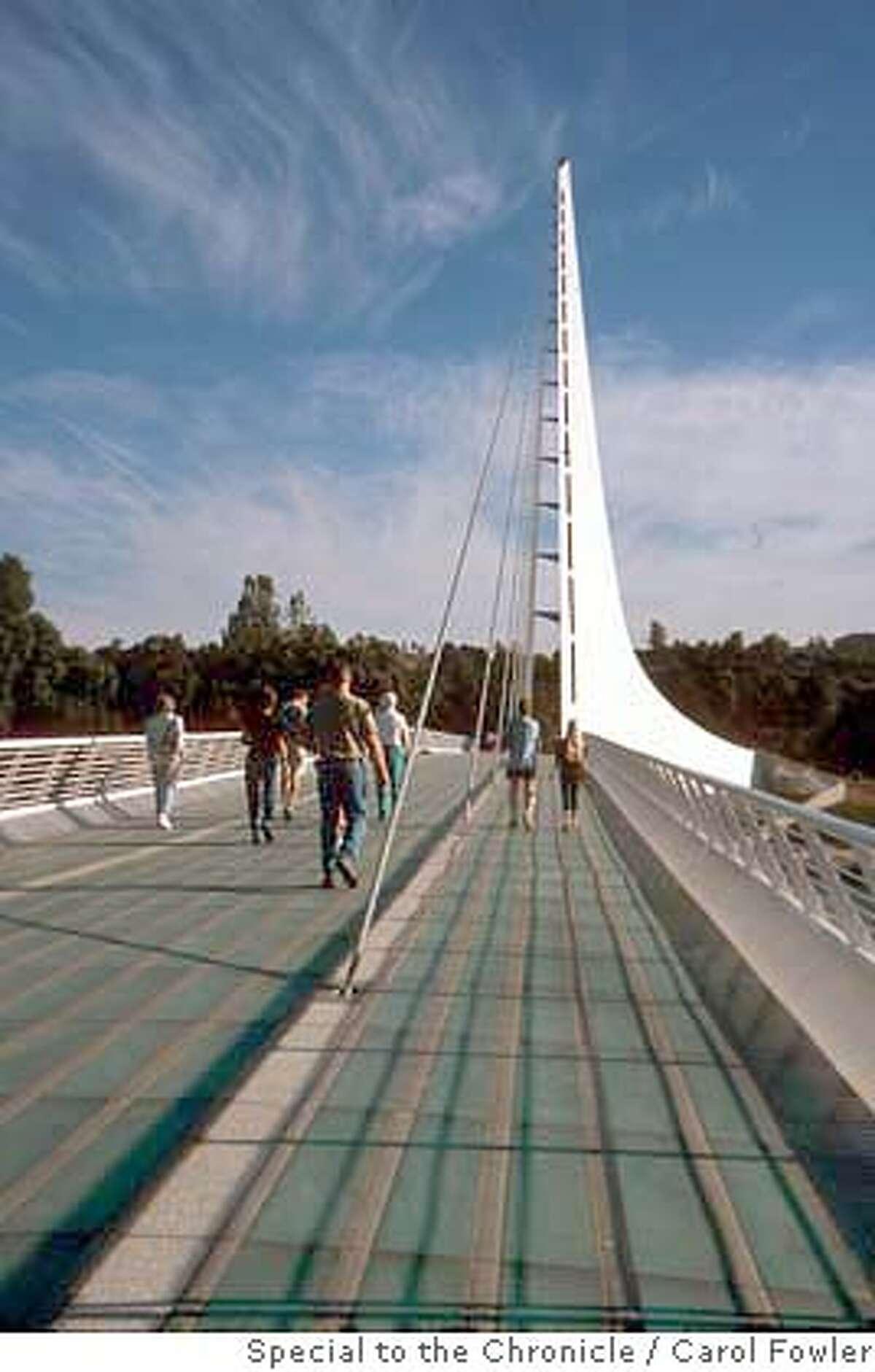 Sundial Bridge Sacramento River Redding Ca Photo Credit: Carol Fowler/special to Chron