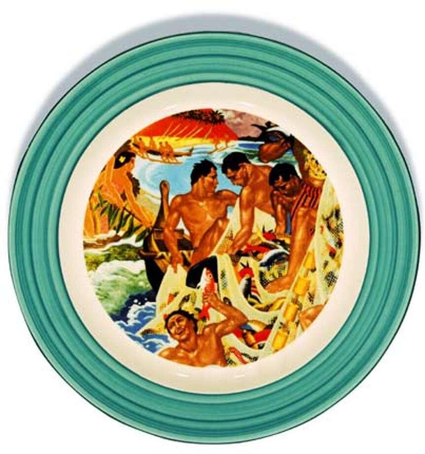 Hawaiiana ware by Lynn Krantz