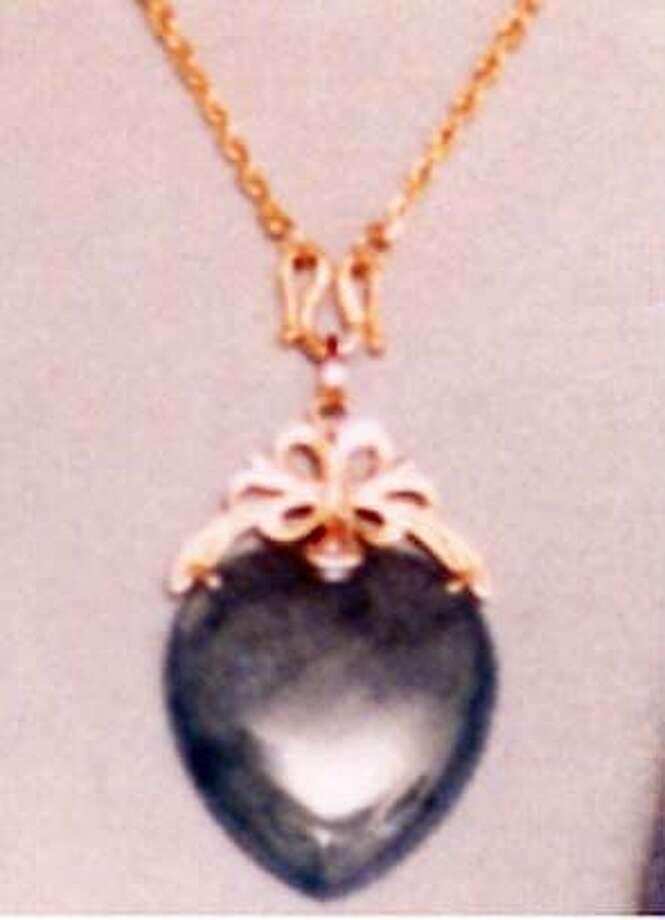 Stolen jade pendant