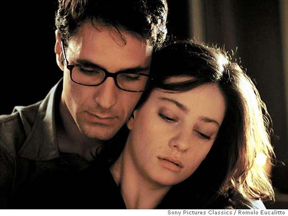 """Raoul Bova and Giovanna Mezzogiorno in """"Facing Windows""""  Sony Pictures Classics / Romolo Eucalitto Photo: Handout"""