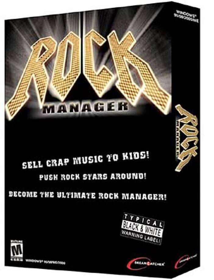 Rock Manager, a computer simulation game from DreamCatcher/Monsterland AB.