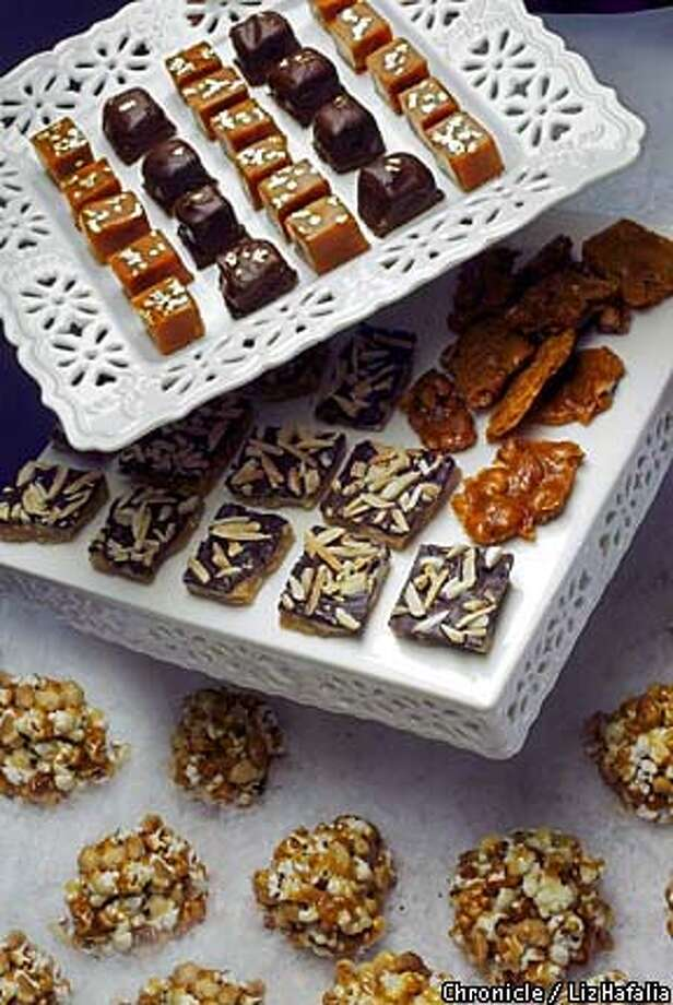 Season's Best: Homemade candy is perfect for nibbling. Chronicle photo by Liz Hafalia