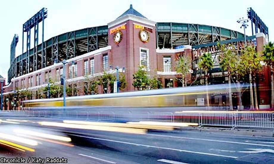 PHOTO BY KATY RADDATZ--THE CHRONICLE  Pacific Bell Park has been sold. Baseball. Ballpark. Photo: KATY RADDATZ