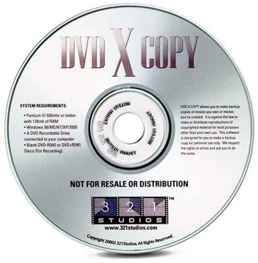 The makers of DVD X Copy claim it's an easy way to back up expensive DVDs