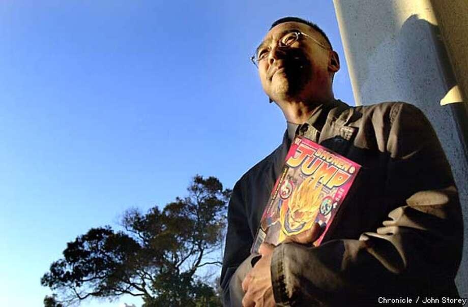 Seiji Horibuchi, CEO of Viz Communications in San Francisco, is launching a U.S. version of the Japanese comic Shonen Jump. Chronicle photo by John Storey.