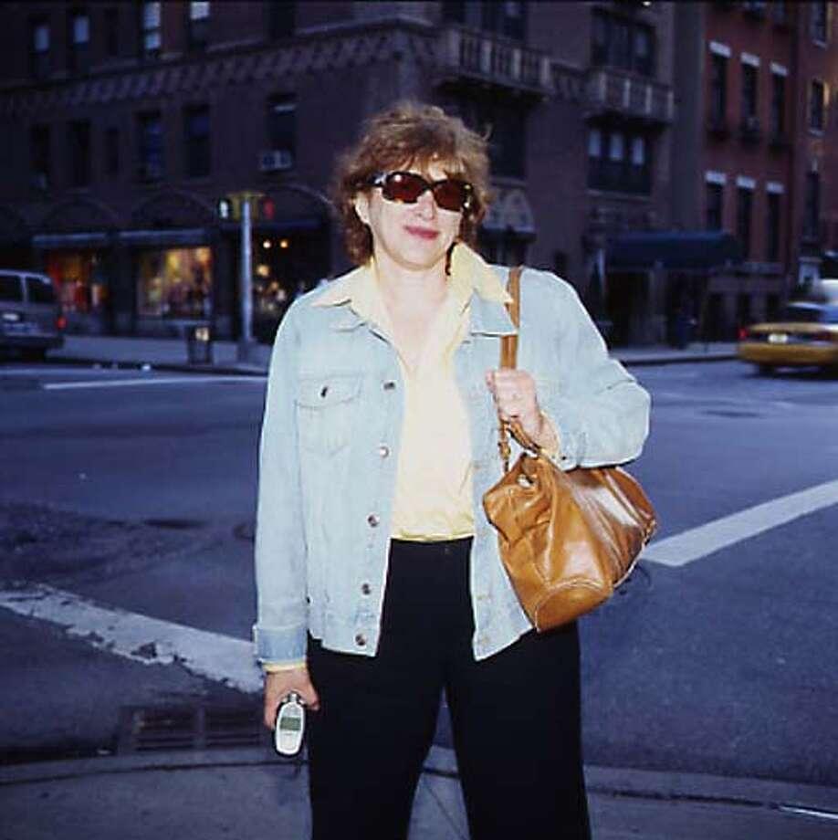WADLER1_FREE Joyce Wadler in New York City where she resides. PHOTO CREDIT: NINA ROBERTS