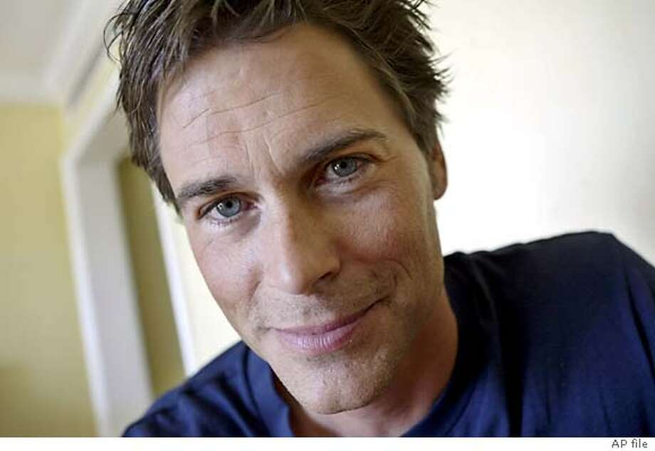"Actor Rob Lowe poses in Beverly Hills, Calif., May 24, 2004. Lowe is starring in Turner Network Television's adaptation of Stephen King's ""Salem's Lot,"" and will also have a new series ""Dr. Vegas,"" on CBS this fall. (AP Photo/Ric Francis) Photo: RIC FRANCIS"