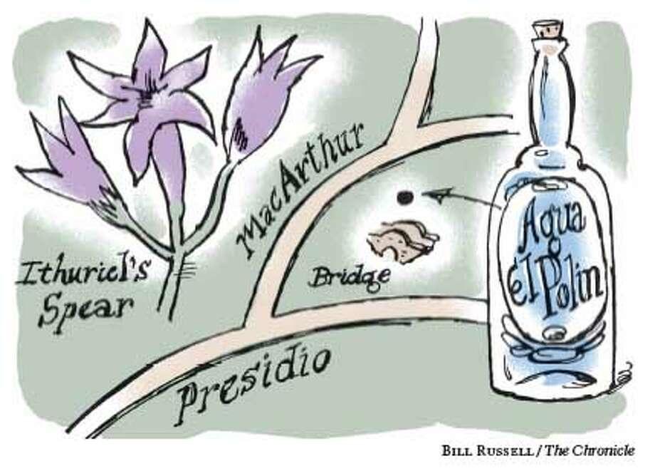 Aqua El Polin. Chronicle illustration by Bill Russell