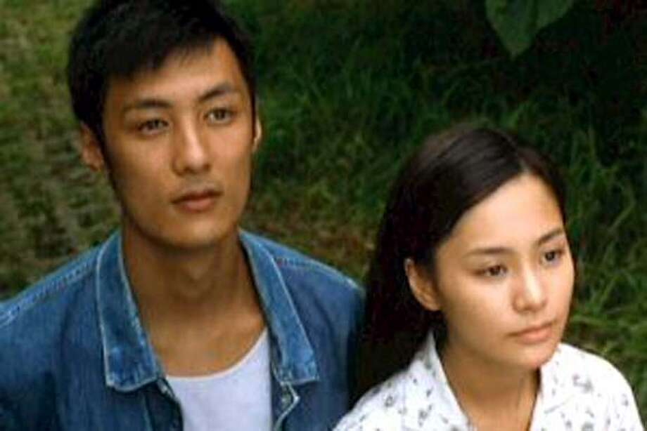 "Shawn Yu and Gillian Chung in ""Just One Look"""