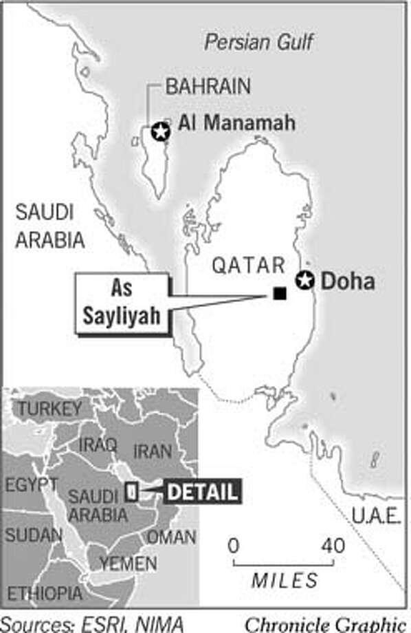 Qatar. Chronicle Graphic