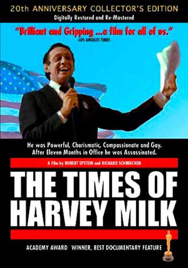 """DVD cover of """"The Times of Harvey Milk"""" ProductNameSundayDatebook"""