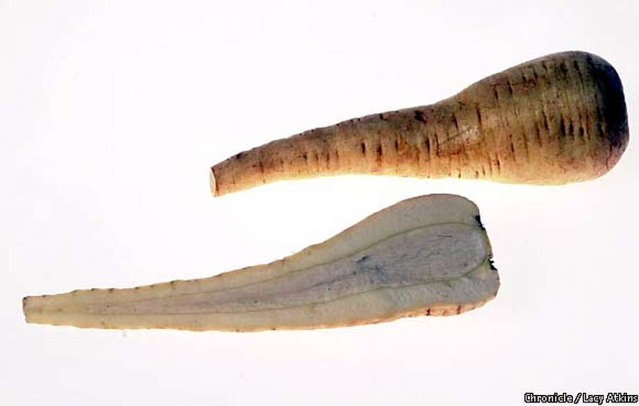 Parsnip, a root vegetable, has never enjoyed great popularity in North America. Chronicle photo by Lacy Atkins