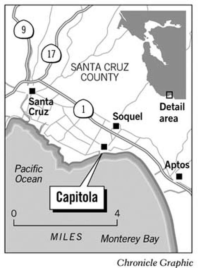 Capitola. Chronicle Graphic