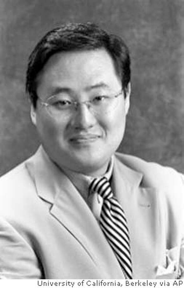 "This is an undated photo of John Yoo, professor of law at the University of California at Berkeley. Students at the University of California, Berkeley's Boalt School of Law say a legal memo that Yoo co-wrote while working for the U.S. Department of Justice ""contributed directly to the reprehensible violation of human rights in Iraq and elsewhere,"" according to a petition being circulated among students and faculty. (AP Photo/University of California, Berkeley) John Yoo John Yoo Ran on: 06-12-2004  UC law professor John Yoo"