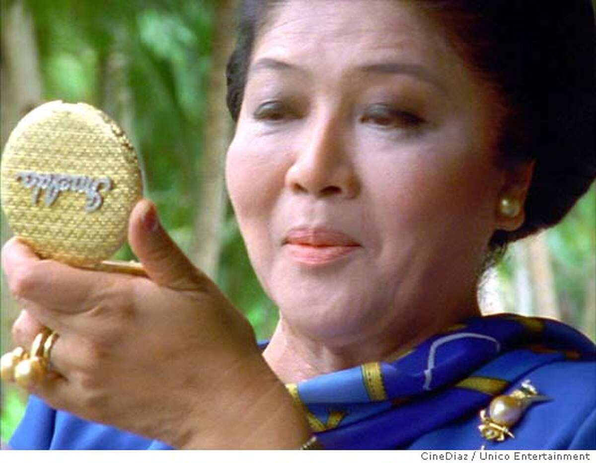 (NYT22) UNDATED -- June 8, 2004 -- IMELDA-2 -- Imelda Marcos, former first lady of the Philippines, as seen in Ramona S. Diaz's film