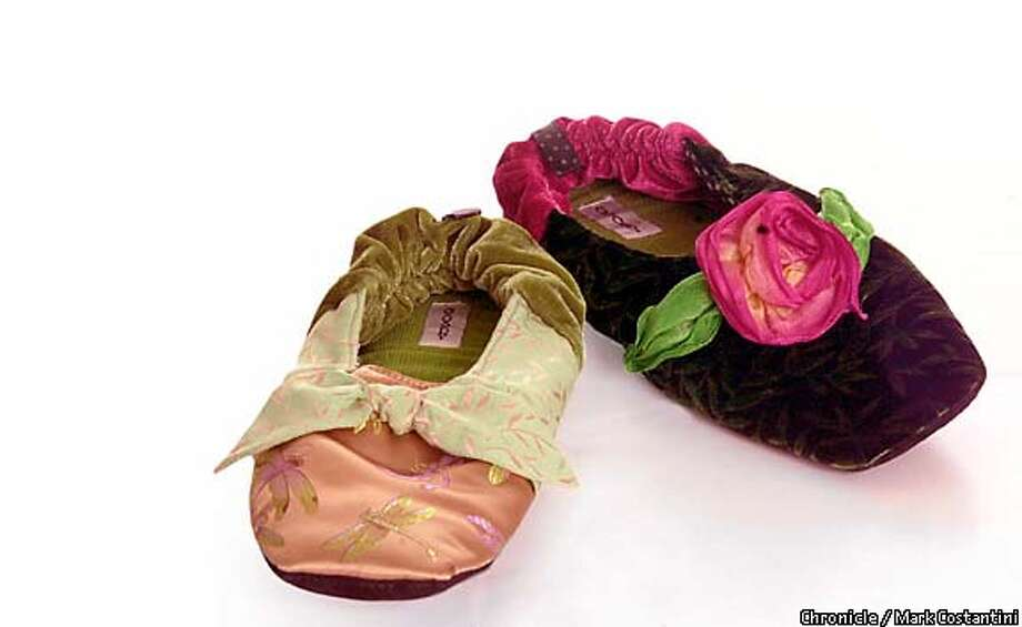 bon-bon fabric slippers ($35-$39). Chronicle photo by Mark Costantini