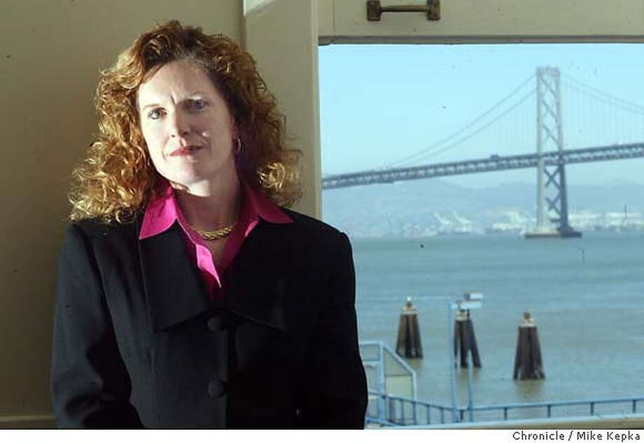 moyer0025_mk.jpg Port of San Francisco director, Monique Moyer.  6/2/04 in San Francisco. Mike Kepka / The Chronicle Port of San Francisco Director Monique Moyer inherited yearly multimillion-dollar operating losses. Photo: Mike Kepka