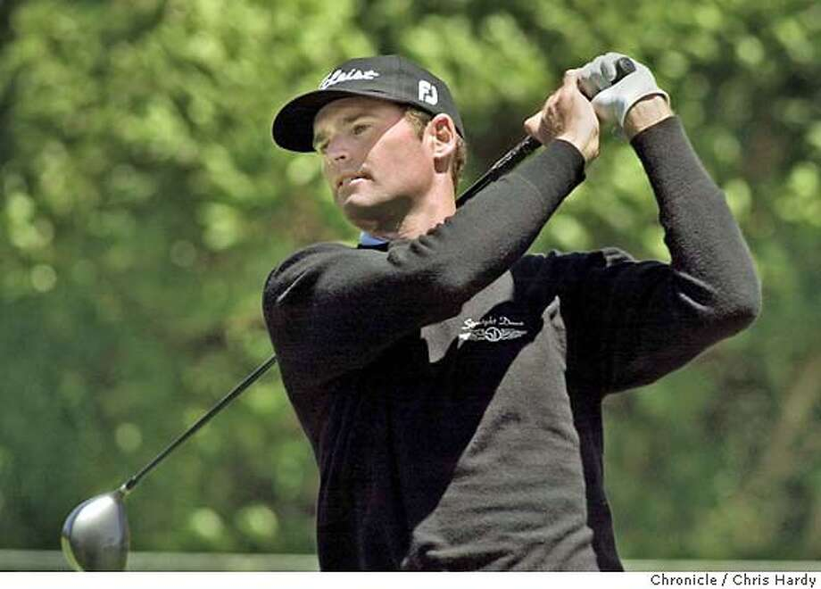 Roger Tambellini tees of on the 1st tee at the US Open Sectional Qualifying tournament at the Lake Merced Country Club  at Daly City,CA on 6/7/04  San Francisco Chronicle/Chris Hardy Photo: Chris Hardy