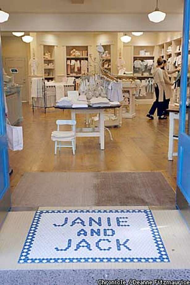 Janie and Jack is a new baby clothing store in Corte Madera.  CHRONICLE PHOTO BY DEANNE FITZMAURICE Photo: DEANNE FITZMAURICE