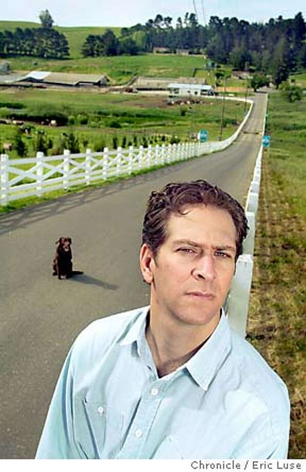 Top Doc. Country lane portrait w/ dog
