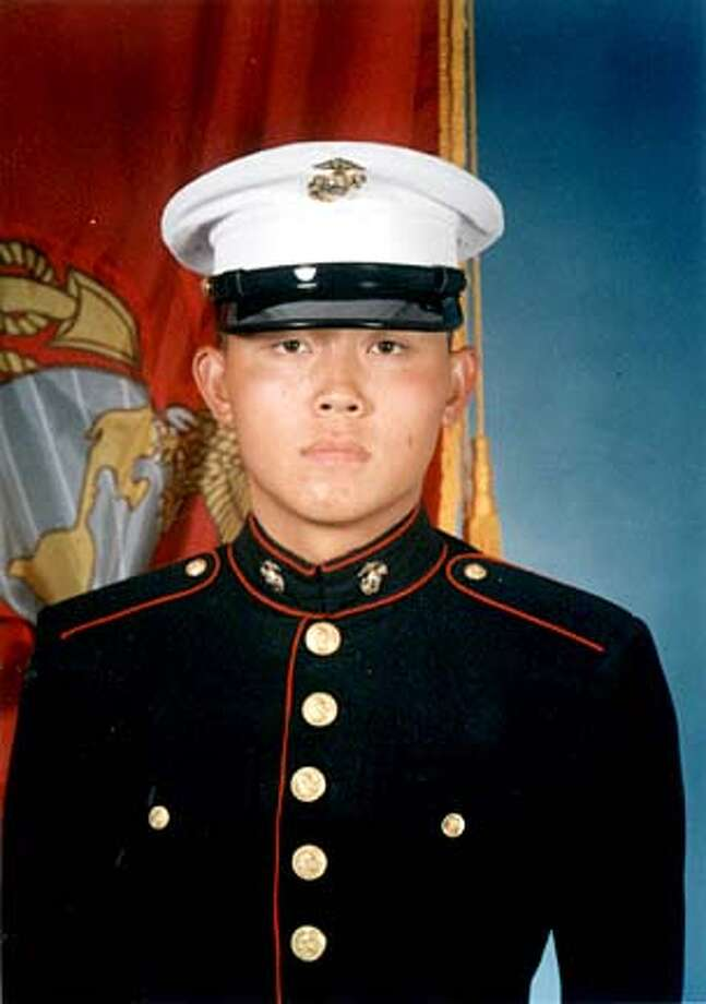 Dead marine Cpl. Bumrok Lee, 21, died Wednesday June 2, 2004, of wounds suffered during fighting in Al Anbar Province in Iraq. His family is from Santa Clara but the military says he's from Sunnyvale