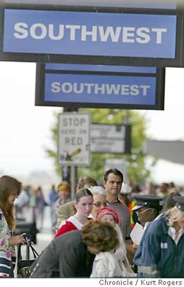 The SouthWest airline expansion of Terminal Two at the Oakland Airport. 6/4/04 in Oakland,CA.  Kurt Rogers/The Chronicle Photo: Kurt Rogers