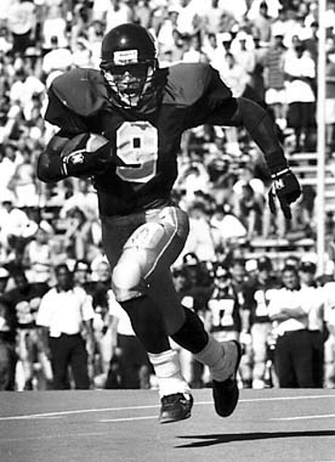 The Bears' Tyrone Edwards ran for 205 yards and two touchdowns in Cal's last Big Game victory over Stanford in 1994. Courtesy Photo