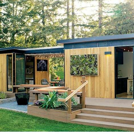Design ideas inspired by small homes sfgate for Prefab backyard homes