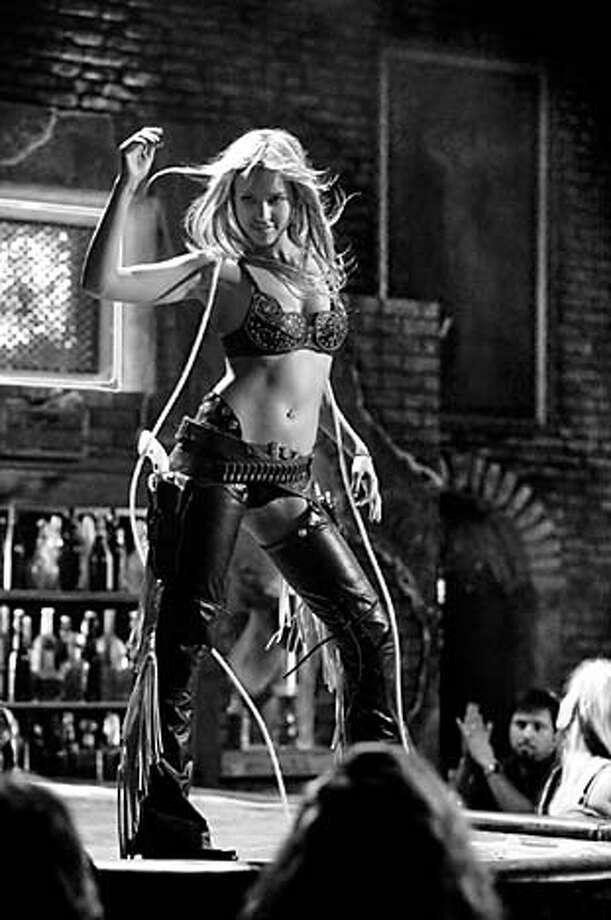 "Photo of Jessica Alba in the movie ""Sin City."" Photographer: Rico Torres Photo: Photographer: Rico Torres"