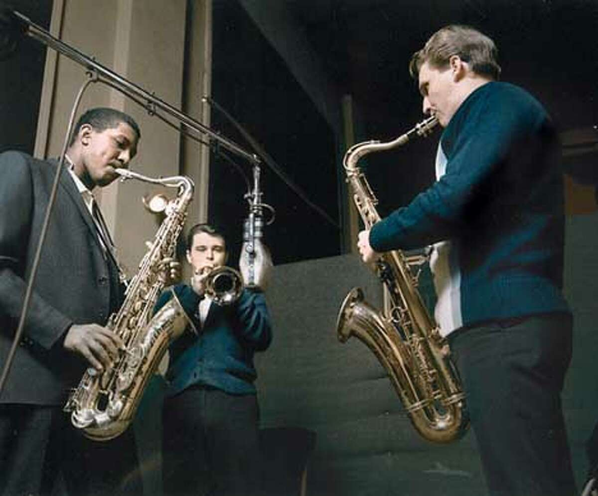 Sarles' work includes a piece on such artists as the Memphis Horns. Photo courtesy Fantasy Archive