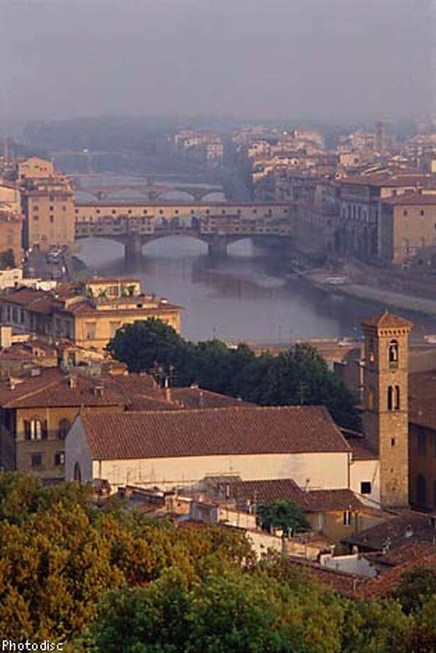 """Florence: """"We found a quiet yet convenient hotel smack in the middle of Florence: the Hotel Helvetia & Bristol. It's just off the Piazza della Republica, minutes from every major attraction. But it is the quietest hotel we have ever stayed in.'' Photo courtesy of Photodisc"""