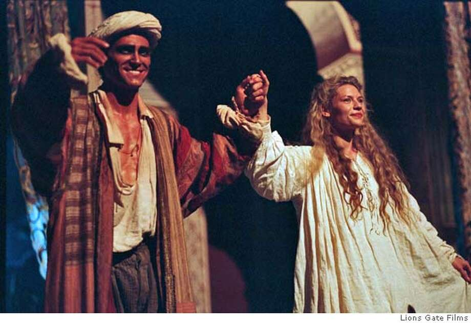 "(NYT13) UNDATED -- October 7, 2004 -- ADVANCE FOR SUNDAY, OCT. 10, 2004 --CRUDUP-THEATER-3 -- Billy Crudup as Ned Kynaston and Claire Danes as Maria in ""Stage Beauty,"" a 2004 film directed by Richard Eyre and released by Lions Gate Films. Echoing reality, they play actors having an affair. (Clive Coote/Lions Gate Films via The New York Times) XNYZ Datebook#Datebook#Chronicle#10/15/2004#ALL#5star##0422400140 Photo: CLIVE COOTE/LIONS GATE FILMS"