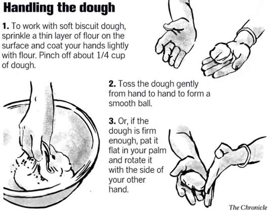 Handling the dough. Chronicle graphic