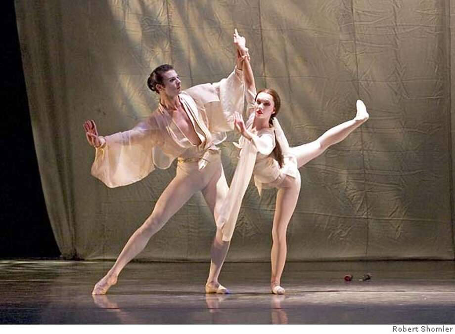 "Shinju - Ballet San Jose Silicon Valley  March 2005 Maximo Califano and Alexsandra Meijer are ""The Lovers"" in Michael Smuin's  SHINJU performed by Ballet San Jose Silicon Valley. PHOTO CREDIT: Robert Shomler Photo: PHOTO CREDIT:"