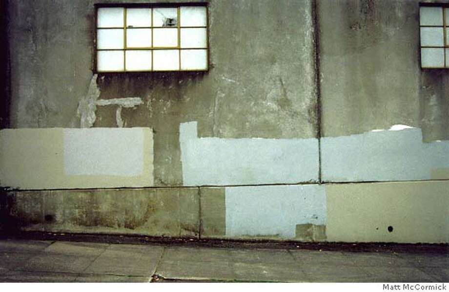 "Requested images for Baja to Vancouver review. ""The Subconscious Art of Graffiti Removal"" (still) (2002), video by Matt McCormick"