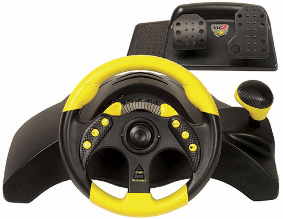 Mad Catz Steering Wheel. Ran on: 04-04-2005