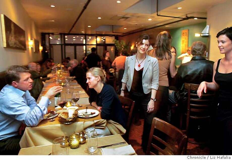 A16 is listed as one of the top 100 restaurants to be used in a small brochure. Shot in San Francisco on 2/22/05. Photo: Liz Hafalia
