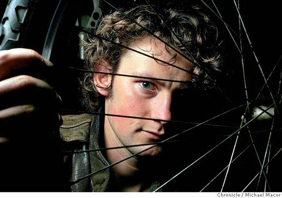 Alastair Bland is a 25 year old traveler who rode his bike up and down the state for two months. He carried no food, ate mostly figs and fruit on the roadside.  1/13/05 San Francisco, Ca Michael Macor / San Francisco Chronicle Photo: Michael Macor