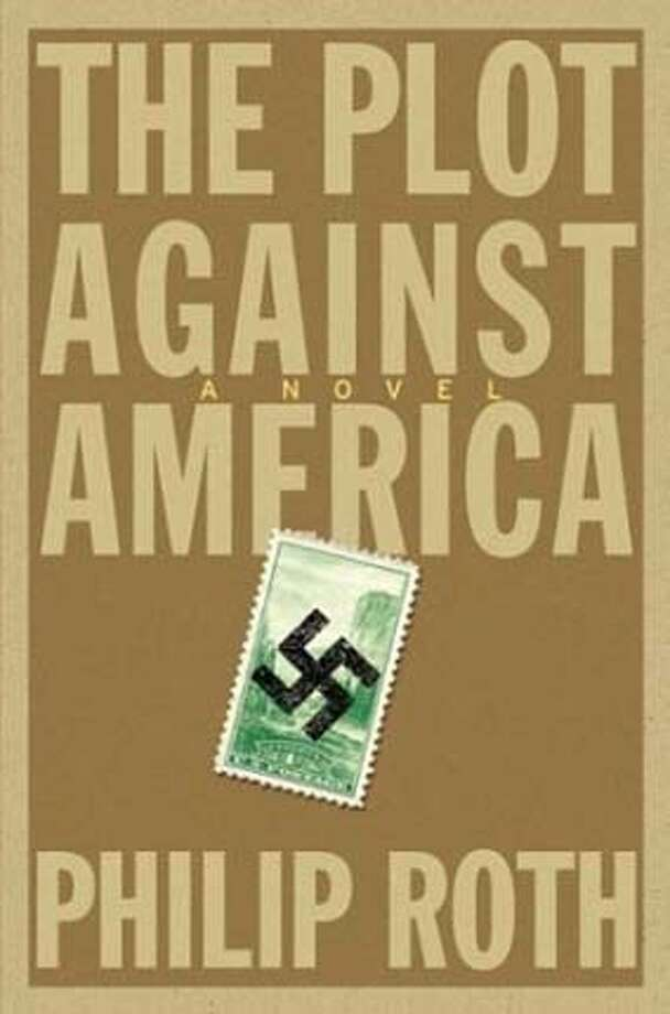 """Cover art for """"Plot against America"""". BookReview#BookReview#Chronicle#10-10-2004#ALL#Advance#M2#0422387749 BookReview#BookReview#Chronicle#10-10-2004#ALL#Advance#M2#0422387749"""