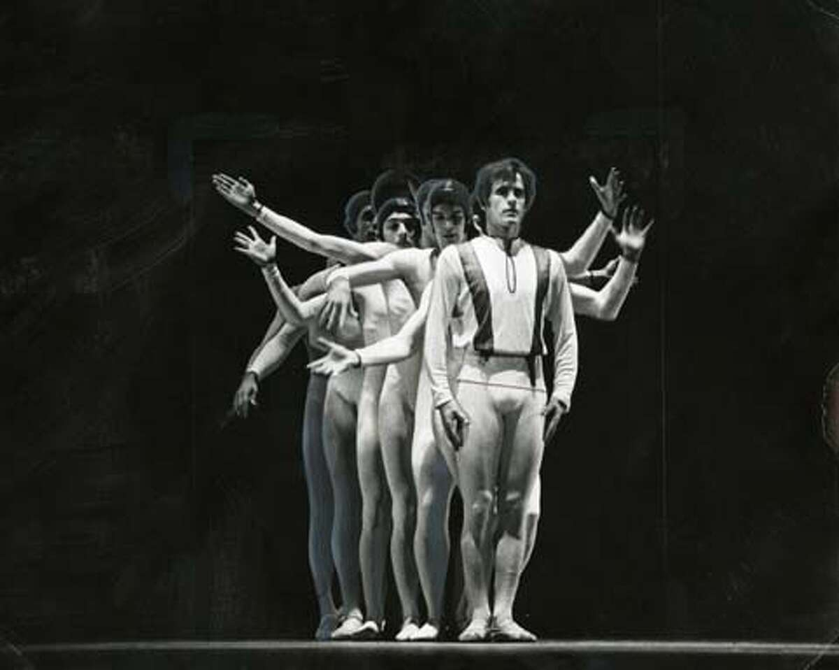 Helgi Dances with the NYC Ballet in Dybbuko (1974)