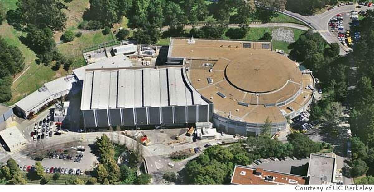 BEVATRON.JPG Aerial shot of the exterior of BEVATRON. � Courtesy UC Berkeley