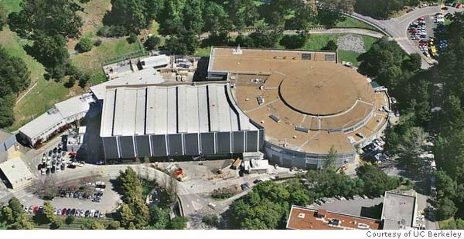 BEVATRON.JPG Aerial shot of the exterior of BEVATRON.  �  Courtesy UC Berkeley Photo: Courtesy